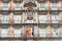 Casa de la Panaderia in the Plaza Mayor in Madrid Royalty Free Stock Images