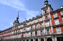 Casa de la Panaderia on Plaza Mayor in Madrid, Spa Royalty Free Stock Image