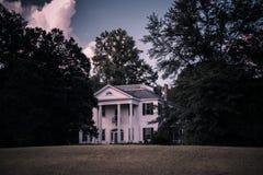 Casa de la plantación Imágenes de archivo libres de regalías