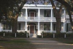 Casa de la plantación de Rosedown Fotos de archivo libres de regalías