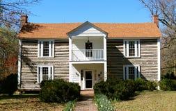 Casa de la plantación del señorío de Davies Fotos de archivo