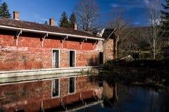 Casa de la primavera - Sweet Springs - Virginia Occidental abandonados Imagenes de archivo