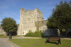 Casa de la puerta del castillo de Rochester Foto de archivo libre de regalías