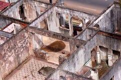Casa de la ruina Foto de archivo libre de regalías