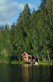 Casa de la sauna Fotografía de archivo
