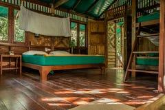 Casa de la selva Foto de archivo libre de regalías