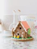 Casa de la torta foto de archivo libre de regalías