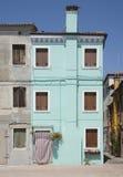 Casa de la turquesa Fotos de archivo libres de regalías