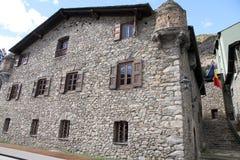 Casa de La Vall, Andorra La Vella Stock Photo