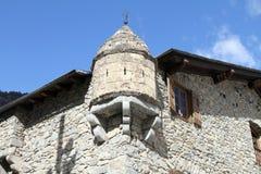 Casa DE La Vall, La Vella van Andorra Royalty-vrije Stock Fotografie