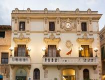 Casa de la Vila in Vilafranca, Catalonia, Spain. Royalty Free Stock Image