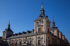 Casa de la Villa, ayuntamiento viejo en Madrid Imagen de archivo