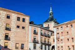 Casa de la Villa of Madrid, Spain. Serves as the city hall Royalty Free Stock Photography