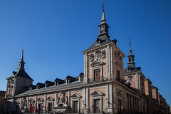 Casa de la Villa, old town hall in Madrid Stock Image