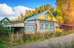 Casa de Lacy Russian imagem de stock royalty free