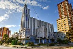 Casa de las Americas - Havana, Cuba. Main building of the Casa de las Americas in the Vedado neighborhood Havana, Cuba Royalty Free Stock Photos