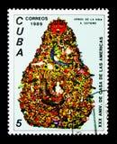 Casa de las Americas, trentesimo anniversario, serie, circa 1989 immagini stock
