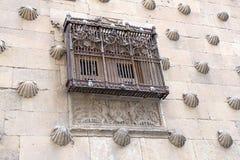Casa de las Conchas en Salamanca Fotografía de archivo libre de regalías