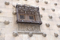 Casa de las Conchas in Salamanca Royalty Free Stock Photography