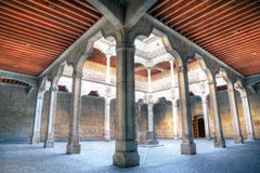 The Casa de las Conchas in Salamanca, Spain Royalty Free Stock Photo