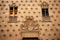 Casa de las Conchas shell house Salamanca Royalty Free Stock Photos