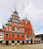 Casa de las espinillas, Riga imágenes de archivo libres de regalías