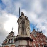 Casa de las espinillas, Riga, Latvia Imagen de archivo libre de regalías