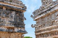 Casa de Las Monjas, Ancient Mayan Ruins at Chichen Itza. Yucatan, Mexico Royalty Free Stock Images