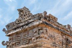 Casa de Las Monjas, Ancient Mayan Ruins at Chichen Itza. Yucatan, Mexico Royalty Free Stock Image