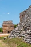 Casa de Las Monjas, Ancient Mayan Ruins at Chichen Itza,. Yucatan, Mexico Stock Images
