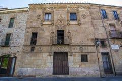 Casa de las Muertes à Salamanque, Espagne image libre de droits