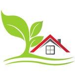 Casa de las propiedades inmobiliarias stock de ilustración