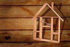 Casa de las propiedades inmobiliarias Fotos de archivo libres de regalías