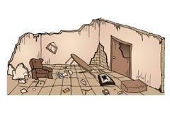 Casa de las ruinas Fotos de archivo libres de regalías