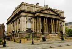 Casa de las sesiones del condado en William Brown Street, Liverpool, Inglaterra Imagen de archivo libre de regalías