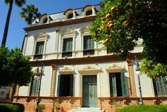 Casa de las sirenas, Casa de las Sirenas, Alameda de Hércules, Sevilla, España Fotografía de archivo