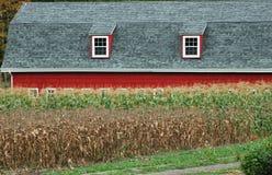 Casa de las tierras de labrantío Fotos de archivo
