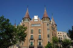 Casa de les Punxes, Barcelona Stock Image