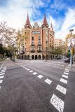 Casa de les Punxes in Barcelona Royalty Free Stock Images