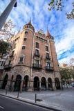 Casa de les Punxes in Barcelona Royalty Free Stock Photography
