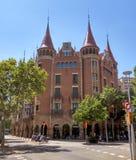 Casa de les Punxes in Barcelona Royalty Free Stock Photo