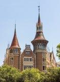 Casa de les Punxes - Barcelona Spain Stock Image