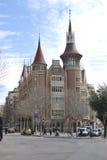 Casa de les Punxes. Barcelona. Spain Stock Photos