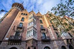 Casa de les Punxes in Barcelona Stock Photos
