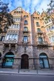 Casa de les Punxes in Barcelona Stock Photography