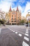 Casa de les Punxes in Barcelona Stock Photo