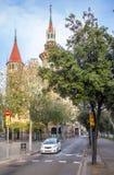 Casa de les Punxes in Barcelona Royalty Free Stock Image