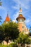 Casa De Les Punxes w Barcelona, Hiszpania Fotografia Royalty Free