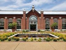 Casa de Linnean en el jardín botánico de Missouri, ST Louis MO imagenes de archivo