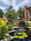 Casa de Linnean en el jardín botánico de Missouri, ST Louis MO imagen de archivo libre de regalías